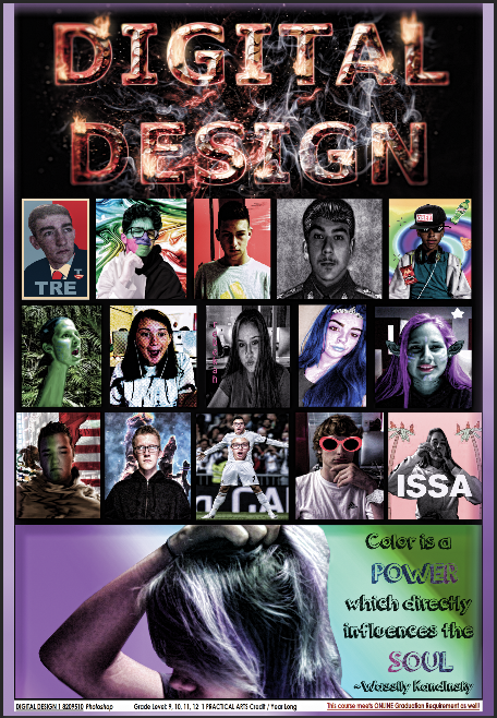 Photoshop Class Student Poster